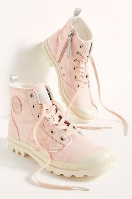 Palladium Pampa Zip Desert Wash Boots