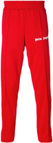 Palm Angels side stripe track pants - men - Polyester - M