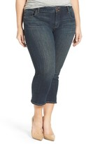 Lucky Brand Plus Size Women's Emma Stretch Crop Jeans