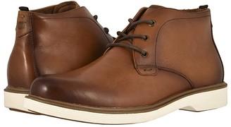Florsheim Supucush Plain Toe Chukka Boot (Cognac Smooth) Men's Boots