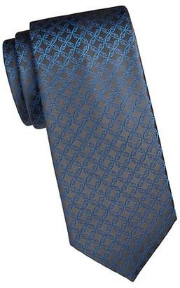 Brioni Logo Silk Tie