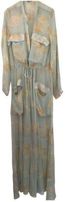 Maiyet Multicolour Silk Dress for Women
