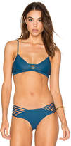 Issa de' mar Hono Bikini Top in Blue. - size M (also in S,XS)