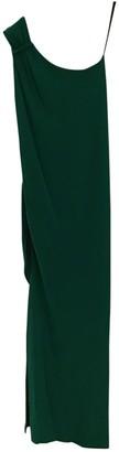 Yigal Azrouel Green Silk Dress for Women