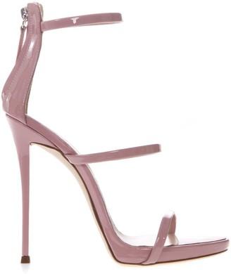 Giuseppe Zanotti Harmony Pink Leather Sandals