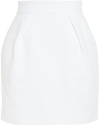 Alexandre Vauthier Cotton-blend Canvas Mini Skirt