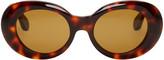 Acne Studios Tortoiseshell Mustang Sunglasses