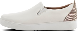 FitFlop Rally Leather Slip-On Sneakers