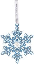 Wedgwood Large Snowflake Decoration - Blue