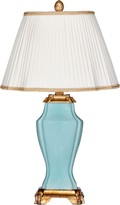 The Well Appointed House Natalia Grace Sky Blue Ceramic Lamp with Shade