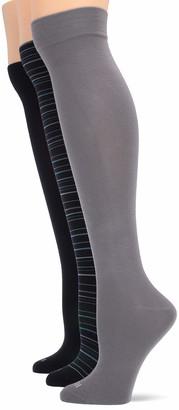 Hue Women's Modal Knee Sock 3 Pair Pack