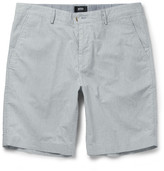 Hugo Boss - Striped Stretch-cotton Shorts