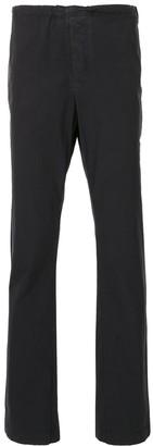James Perse Drawstring-Waist Straight-Leg Chino Trousers