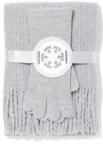 New York & Co. 2-Piece Honeycomb Scarf & Gloves Set