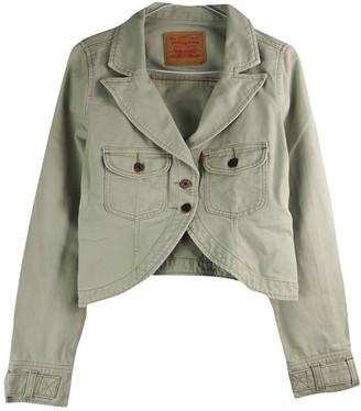 Levi's Camel Denim - Jeans Jacket for Women Vintage