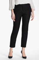 Adrianna Papell Lace Crop Pants