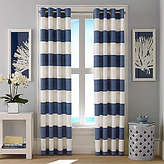 Nautica Cabana Stripe Cadet Curtain Panel Set