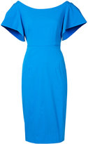 Milly fitted cocktail dress - women - Cotton/Polyester - 2