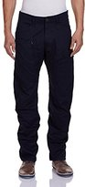 G Star Men's Powel 3D Tapered Fit Pant In Lt Wt Left Hand Twill Mazarine Blue
