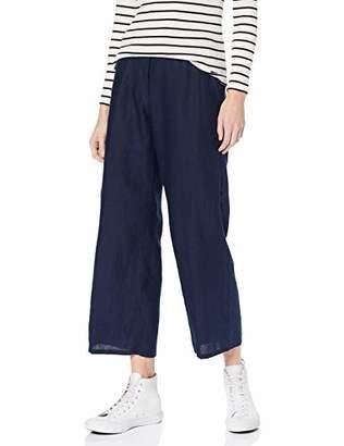 Brax Women's Maine S Linen Leinenhose Uni Verkürzt Mit Schlupfbund Trouser,(Size: 42)
