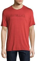 John Varvatos Metallica Logo Graphic T-Shirt, Red