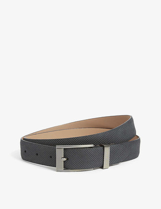 Ted Baker Rubberised leather belt
