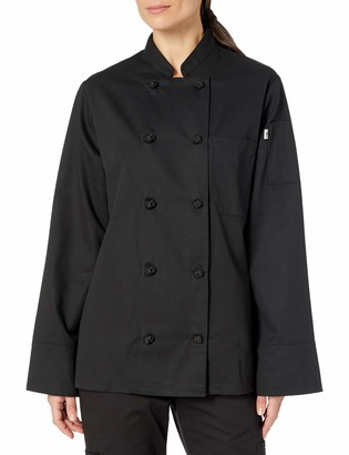 Uncommon Threads Unisex-Adults Plus Size Santorini Chef Coat