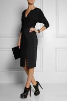 Altuzarra Hudson crepe and stretch-crepe jersey dress