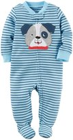 "Carter's Baby Boys' ""Puppy Split"" Footed Coverall"