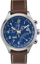 Timex Men's Intelligent Quartz | Fly-Back Chronograph 2 Time Zones | TW2P78800
