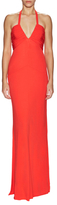 Rachel Zoe Mamie Ruched And Draped Gown