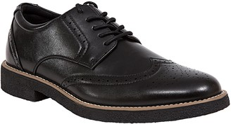 Deer Stags Men's Lace-Up Wingtip Oxfords - Creston