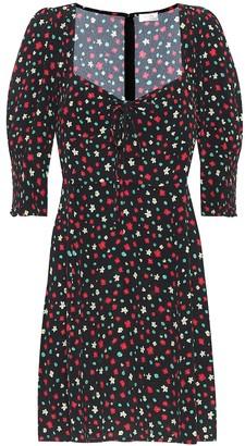 Rixo Larissa floral crApe dress