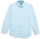 Thomas Dean Geometric Dress Shirt (Big Boys)