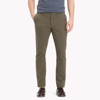 Tommy Hilfiger Stretch Cotton Twill Straight Fit Chino