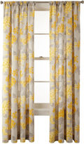 Martha Stewart MarthaWindowTM Hydrangea Rod-Pocket Cotton Curtain Panel