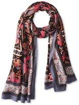 Theodora & Callum Women's Bozeman Wearable Art Blanket Scarf, Grey