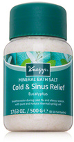 Kneipp Eucalyptus Cold and Sinus Relief Mineral Bath Salt