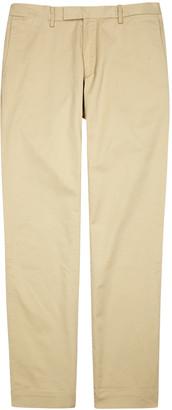 Polo Ralph Lauren Taupe Slim-leg Stretch Cotton Chinos