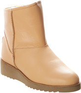 Australia Luxe Collective Low Wedge Joshua Leather Boot