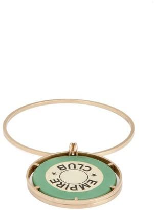 Francesca Villa Empire Club 18kt Gold Bracelet - Womens - Green