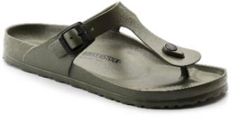 Birkenstock Khaki EVA Gizeh Regular Sandal - 40