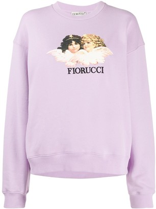 Fiorucci Vintage Angels relaxed-fit sweatshirt