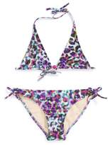 Milly Minis Minis Fiji - Cheetah Two-Piece Swimsuit (Big Girls)