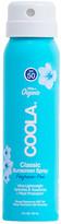 Coola Travel Body SPF 50 Unscented Sunscreen Spray