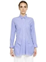 Jil Sander Pinstripe Cotton Poplin Shirt
