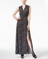 MICHAEL Michael Kors High-Slit Maxi Dress