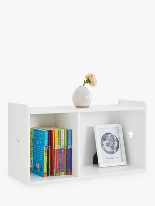 Great Little Trading Co Star Bright Wall Mounted Hutch Storage Unit, White