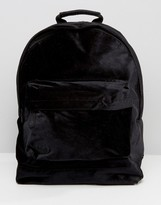 Mi-Pac Velvet Backpack Black