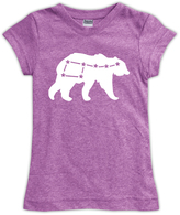 Urban Smalls Mauve Constellation Bear Fitted Tee - Toddler & Girls